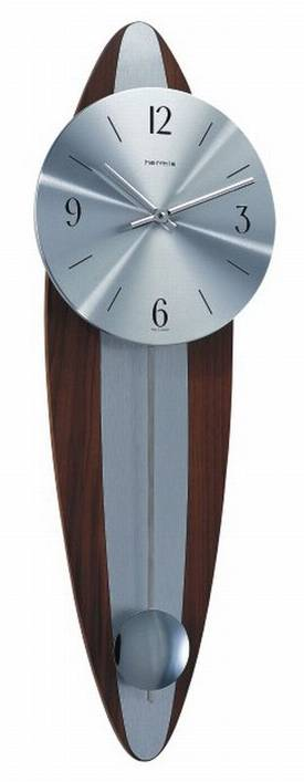 Hermle Wall Clocks Modern Combo Wall Clock