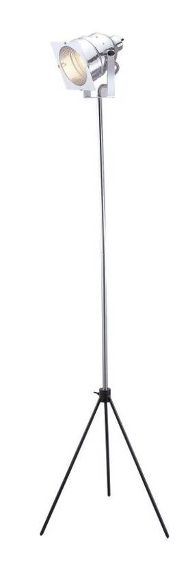 Adesso Spotlight Spotlight Floor Lamp In Steel Finish Lighting