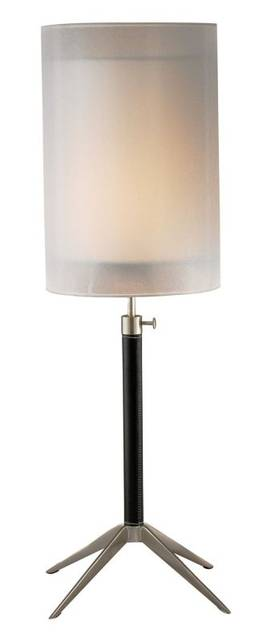 Adesso Santa Cruz Santa Cruz Table Lamp In Black Finish Lighting