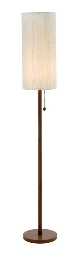 Adesso Hamptons Hamptons Floor Lamp in Walnut Finish Lighting