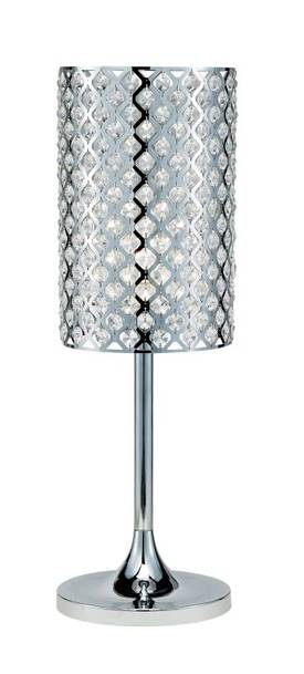 Adesso Bling Bling Table Lamp with Chrome Finish Lighting