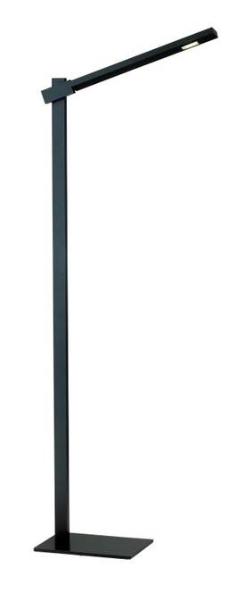 Adesso Reach Reach Floor Lamp in Black Finish Lighting