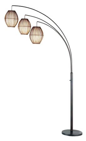 Adesso Maui Maui Arc Lamp In Bronze Finish Lighting