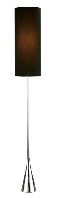 Adesso Bella Bella Floor Lamp In Chrome Finish Lighting