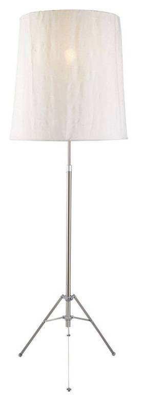 Adesso Trident Trident Floor Lamp In Steel Finish Lighting