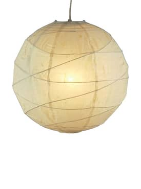 Adesso Orb Orb Small Pendant in Natural Finish Lighting