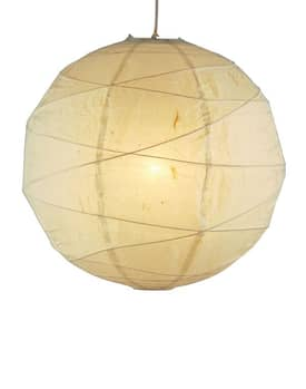 Adesso Orb Orb Medium Pendant in Natural Finish Lighting