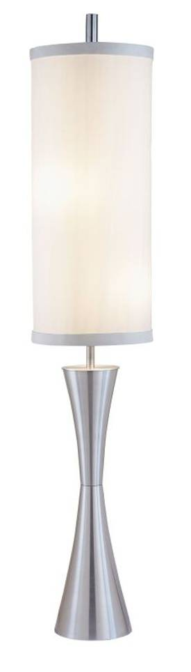 Adesso Geneva Geneva Floor Lamp In Steel Finish Lighting