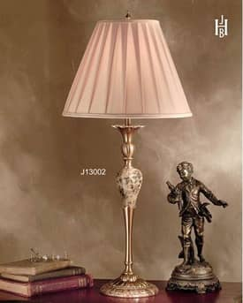 JB Hirsch Traditional Placid Candlestand Table Lamp Lighting