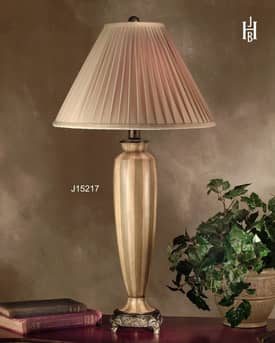 JB Hirsch Traditional Parkside Vase Resin Table Lamp Lighting