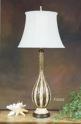 JB Hirsch Contemporary Petersburg Porcelain Table Lamp Lighting