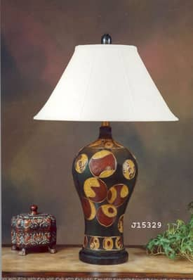 JB Hirsch Contemporary Creation Porcelain Table Lamp Lighting