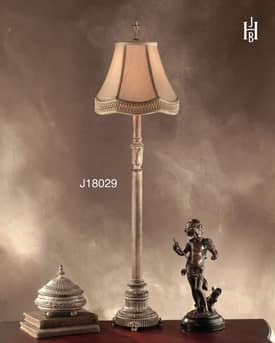 JB Hirsch Traditional Jefferson Metal Buffet Lamp Lighting