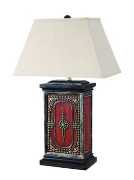 Sedgefield by Adams Sedgefield Tucson Table Lamp in Hand Painted Finish Lighting