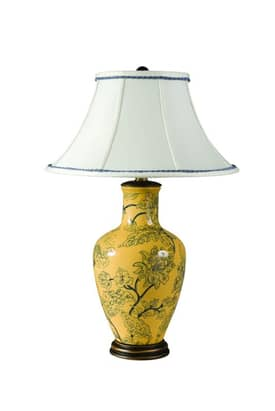 Sedgefield by Adams Williamsburg Catherine Table Lamp in Hand Painted Finish Lighting