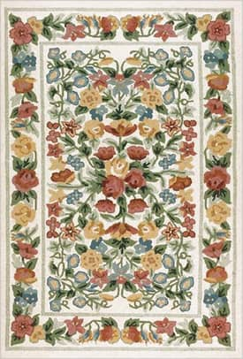 The American Home Rug Company Bucks County Floral Garden Rug