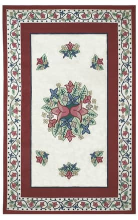 The American Home Rug Company Bucks County Tulip Rug