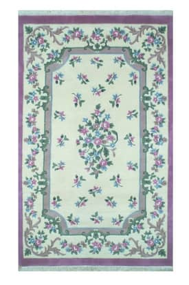 The American Home Rug Company French Country Floral Aubusson Rug