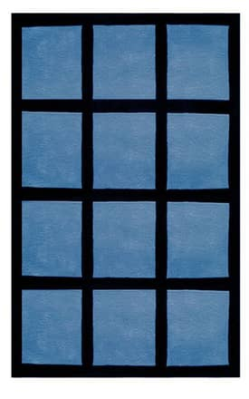 The American Home Rug Company Bright Window Blocks Rug