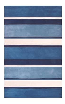 The American Home Rug Company Beach Ocean Stripes Rug