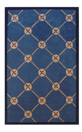 The American Home Rug Company Beach Compass Rug