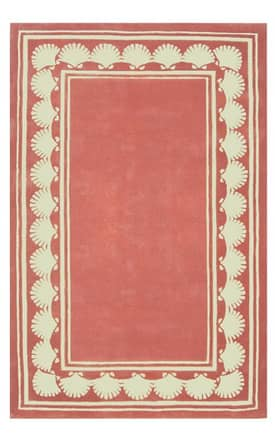 The American Home Rug Company Beach Shell Border Rug