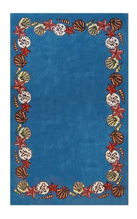 The American Home Rug Company Beach Coral Reef Rug