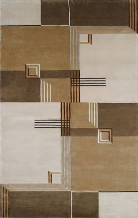 The American Home Rug Company Casual Contemporary Architectural Elements Rug