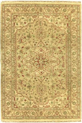The American Home Rug Company Designer Golden Serapi Rug