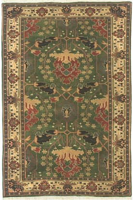 The American Home Rug Company Classic Donagal Arts & Crafts Rug
