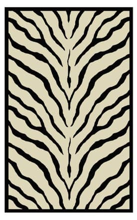 The American Home Rug Company African Safari Zebra Rug