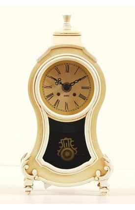 Ashton Sutton Antoinette Antoinette Boutique Pendulum Table Clock