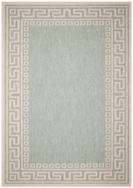 Direct Home Textiles Four Seasons® Outdoor Greek Key Rug