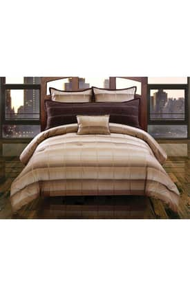 Hallmart Collectibles Contemporary Linder Comforter Set