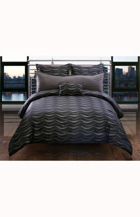 Hallmart Collectibles Contemporary Ristal Comforter Set