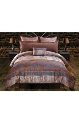 Hallmart Collectibles Traditional Versailles Comforter Set