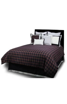 Hallmart Collectibles Contemporary Dover Plaid Comforter Set