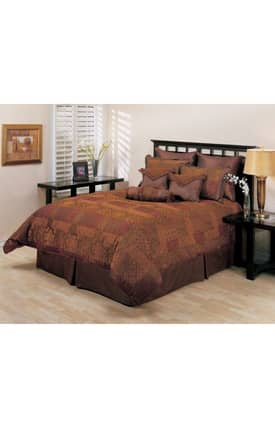 Hallmart Collectibles Traditional Arizona Comforter Set