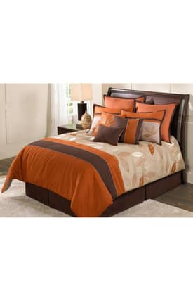 Hallmart Collectibles Contemporary Garwood Comforter Set