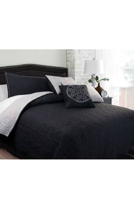 Hallmart Collectibles Contemporary Mila Coverlet Set