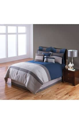 Hallmart Collectibles Contemporary Nelson Comforter Set