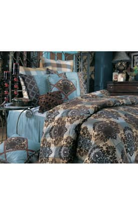 Hallmart Collectibles Kathy Ireland Kathy Ireland Parisian Nights Comforter Set
