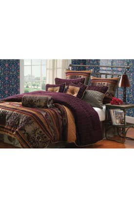 Hallmart Collectibles Kathy Ireland Home St. Petersburg Comforter Set