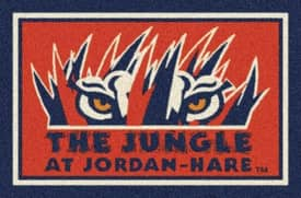 Milliken Team Spirit University Of Auburn The Jungle Rug