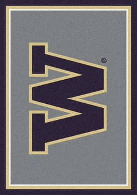 Milliken Team Spirit University Of Washington Rug