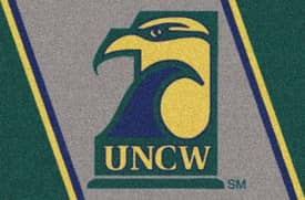 Milliken Team Spirit UNC Wilmington Rug