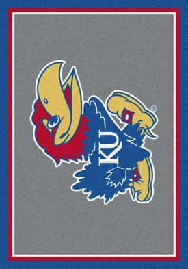 Milliken Team Spirit University Of Kansas Rug