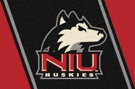 Milliken Team Spirit University Of Northern Illinois Rug