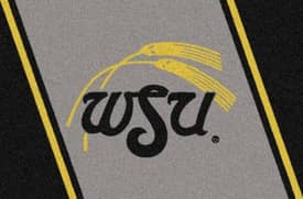 Milliken Team Spirit Wichita State Rug