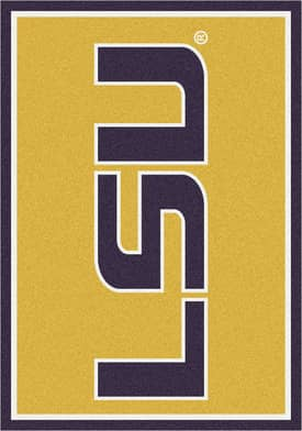 Milliken Team Spirit University Louisiana State Rug